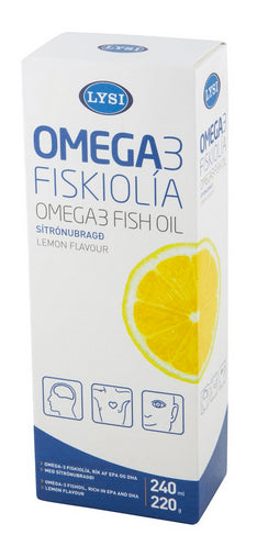 OMEGA-3 FISH OIL - PACK OF 12, Liquid Cod Oil - icelandicstore.is
