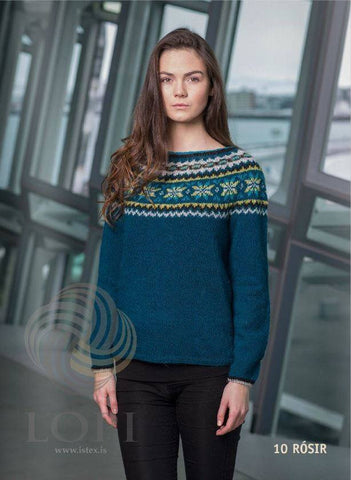 Rósir - Custom made Icelandic Sweater, Women's Custom Sweaters - icelandicstore.is