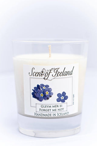 Scent of Iceland - Forget me not, Icelandic Candle - icelandicstore.is