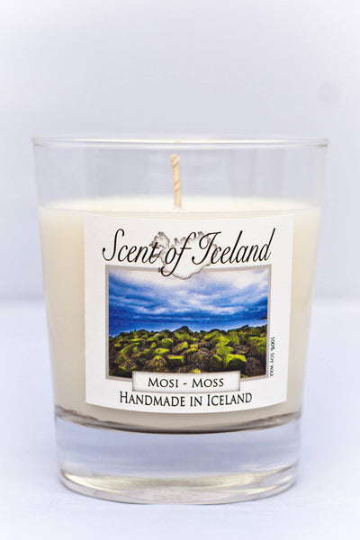 Scent of Iceland - Moss, Icelandic Candle - icelandicstore.is