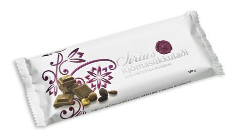 Noi Sirius Chocolate - Nuts & Raisins, Icelandic Candy - icelandicstore.is