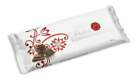 Noi Sirius Chocolate - Plain Milk chocolate, Icelandic Candy - icelandicstore.is