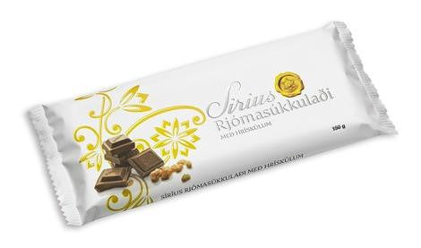 Noi Sirius Chocolate - Rice Krispies, Icelandic Candy - icelandicstore.is
