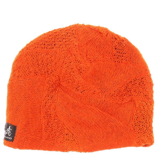 Wool Hat - Orange, Icelandic Wool Hat - icelandicstore.is