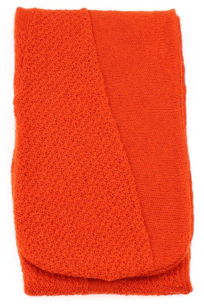 Wool Scarf - Orange, Wool Scarf - icelandicstore.is