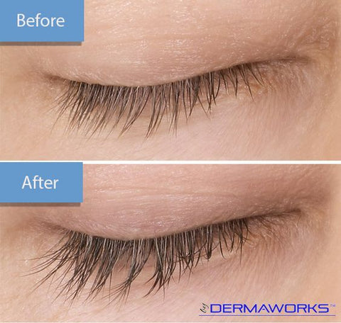 Dermaworks Spectaculash Eyelash Growth Serum. Grow longer lashes and grow fuller lashes. Regrow eyelashes naturally.