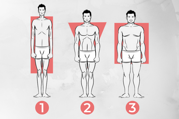 different kind of body type men