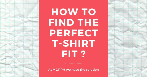 how to find the perfect t-shirt fit for men ?