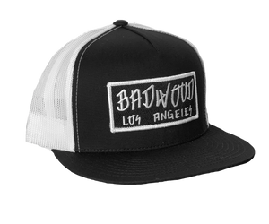 """GRAFFITI"" Trucker Hat - BLACK/WHITE"
