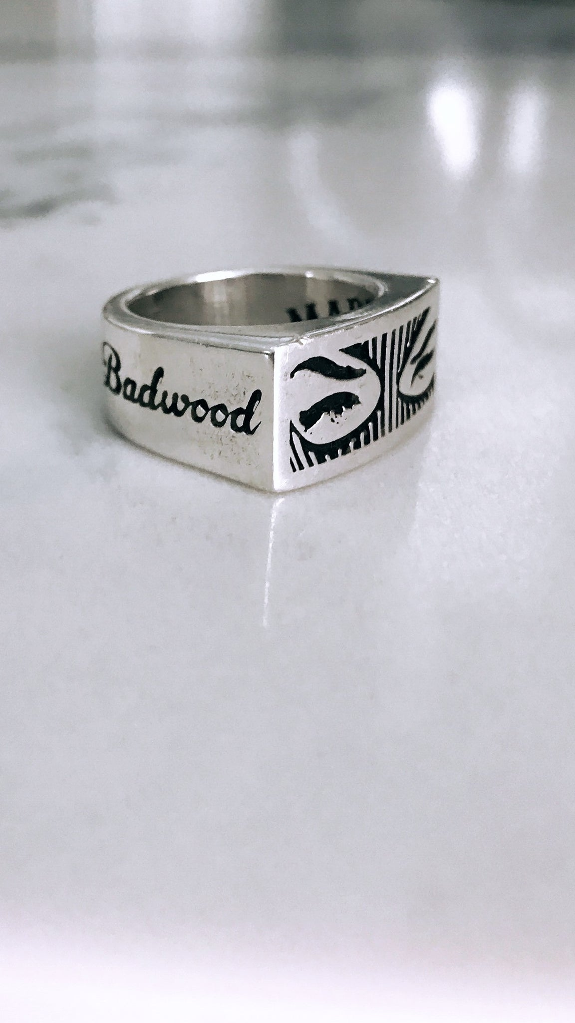 Badwood x SpeakeasyOriginal RING