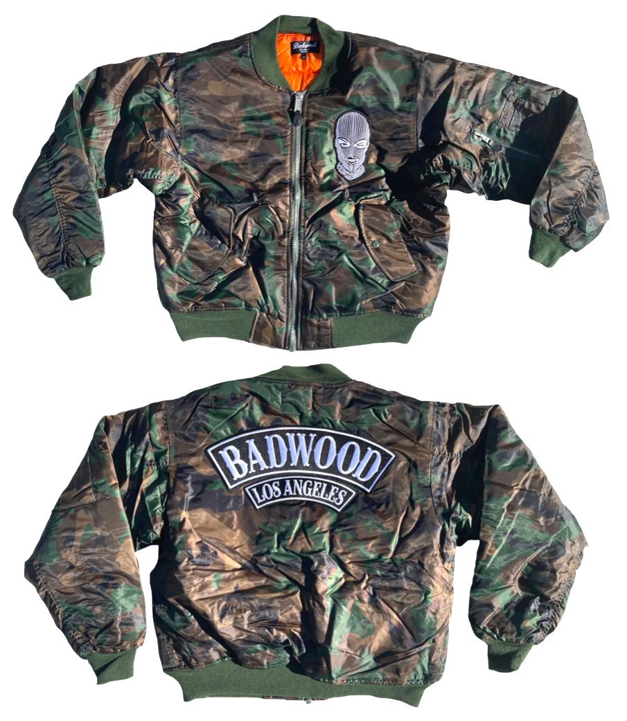 Badwood Bomber Jacket in CAMO