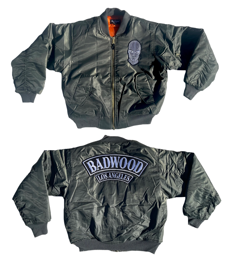 Badwood Bomber Jacket in SAGE