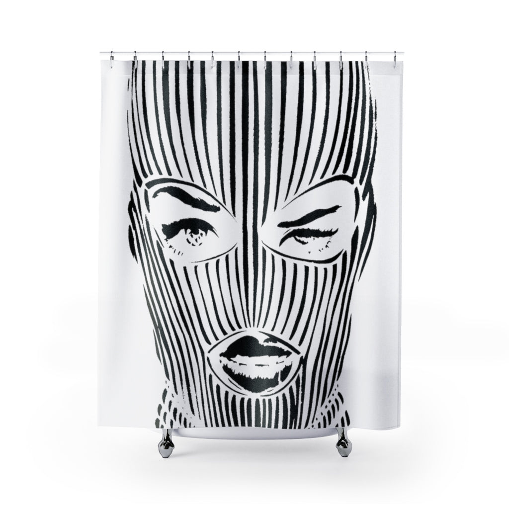O.G. Ski Mask Shower Curtain