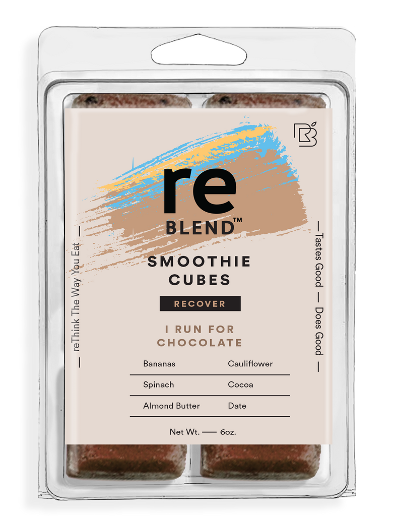 I Run For Chocolate (Almond Butter) reBLEND Blocks Order