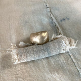 Solid Gold Casual Statement Ring - sku1061r14k