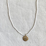 MINI CHARM BEACH NECKLACE - SKU292NLGW14K - keelysmithdesigns