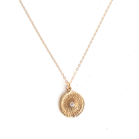 MEDIUM FIREWORK BURST NECKLACE GOLD - 298NLG