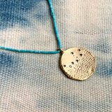 RAINFALL IMPRINT SPARKLE NECKLACE  - SKU311NLGT