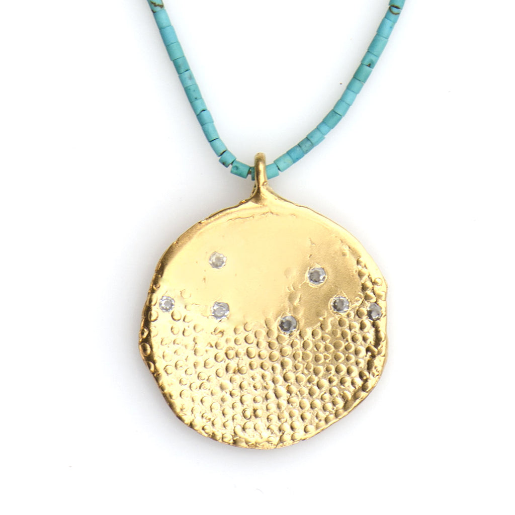 RAINFALL IMPRINT SPARKLE NECKLACE  - SKU311NLGT - keelysmithdesigns