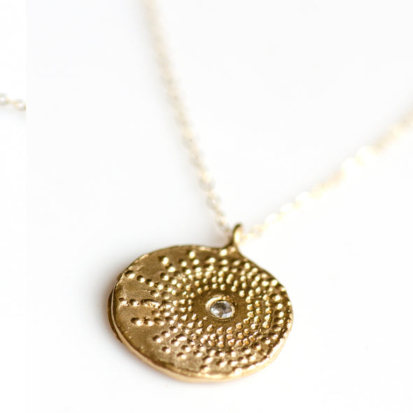 FIREWORK BURST NECKLACE - GOLD - 315NLG
