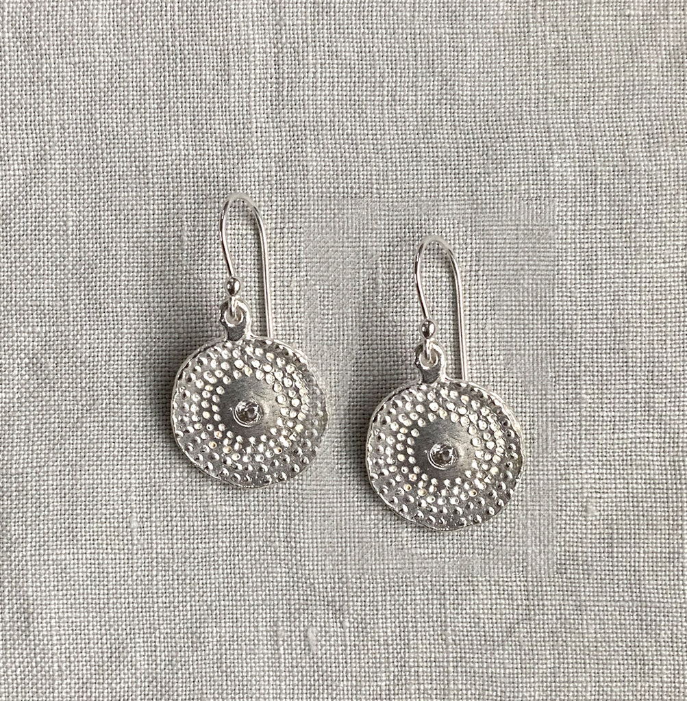 FIREWORK BURST EARRINGS IN SILVER - SKU401ERS - keelysmithdesigns