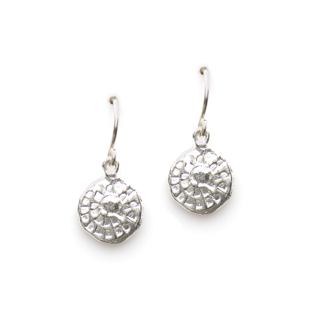 MINI PRINT EARRINGS IN SILVER | KEELY SMITH JEWELRY DESIGNS