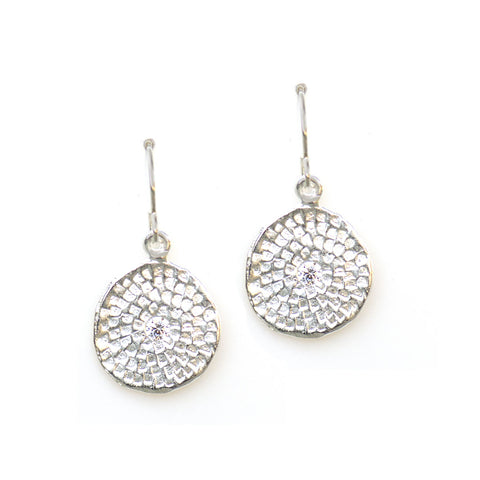 MEDIUM PRINT EARRINGS IN SILVER | KEELY SMITH JEWELRY DESIGNS