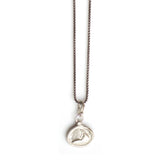 Nantucket Heavy Necklace in Silver - 708nls