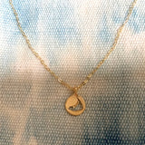 Tiny Nantucket Necklace in Gold - sku722nlg