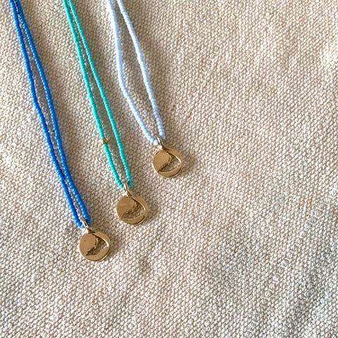 Nantucket Tiny Cut Out Necklace - 722nl14kbeads