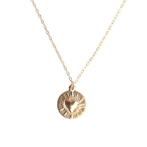 SMALL LOVE SPARK NECKLACE - GOLD - 276NLG