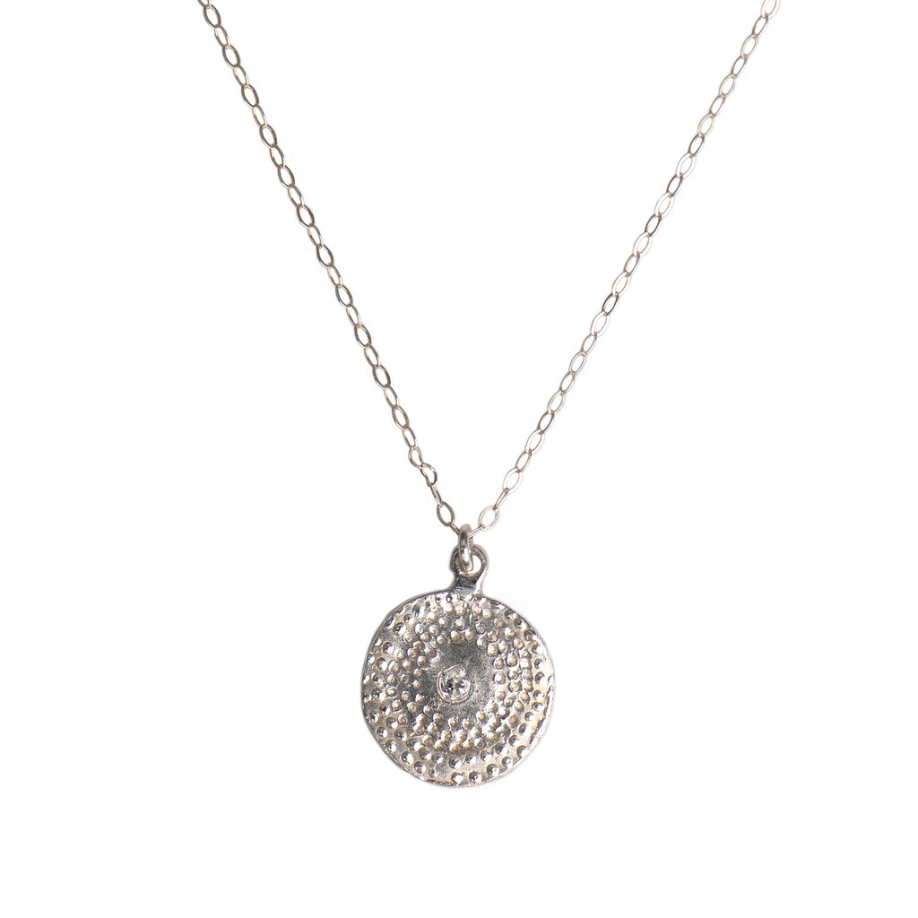 MEDIUM FIREWORK BURST NECKLACE - SILVER - 298NLS