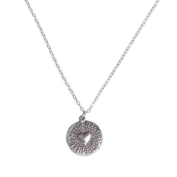HEART SPARK NECKLACE - STERLING - 235NLS