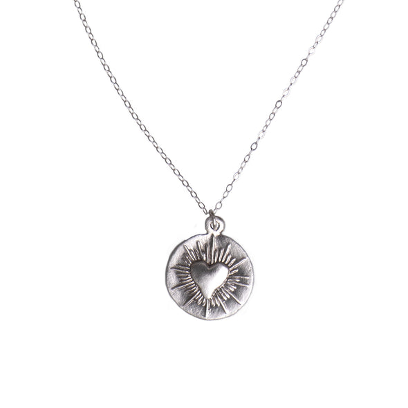 SMALL LOVE SPARK NECKLACE - SILVER - 276NLS