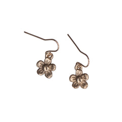 SINGLE DAISY DROP EARRING - GOLD - 415ER