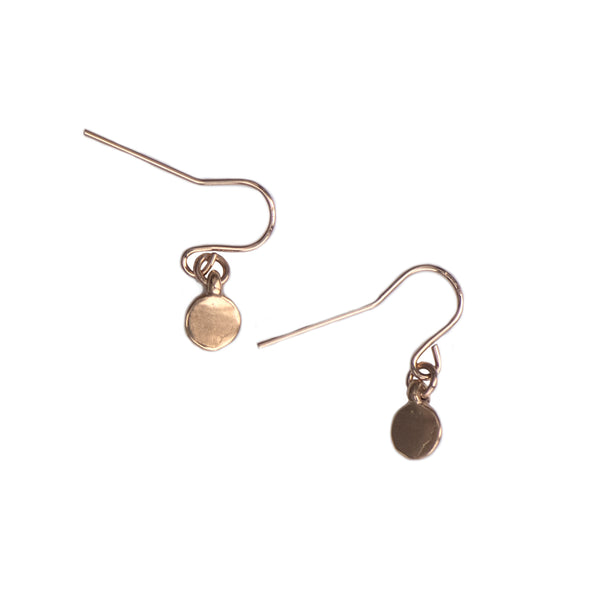 TINY DOT EARRINGS - GOLD - 408ERG
