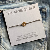 X GREY - MINI NANTUCKET CUT OUT CASUAL BRACELET - keelysmithdesigns