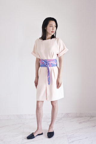Demeteer bareback Kimono Dress in Peach Whip 30% OFF $169 NOW $118