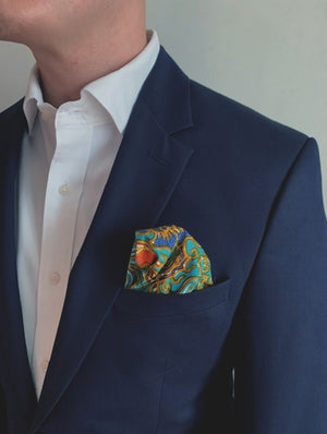 Baba pocket squares