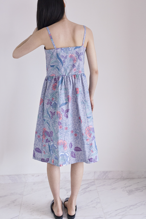 Desdemona Babydoll Sundress in Cyprine