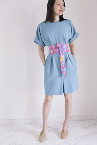 Demeteer bareback Kimono Dress in Vert d'Eau 30% OFF $169 NOW $118