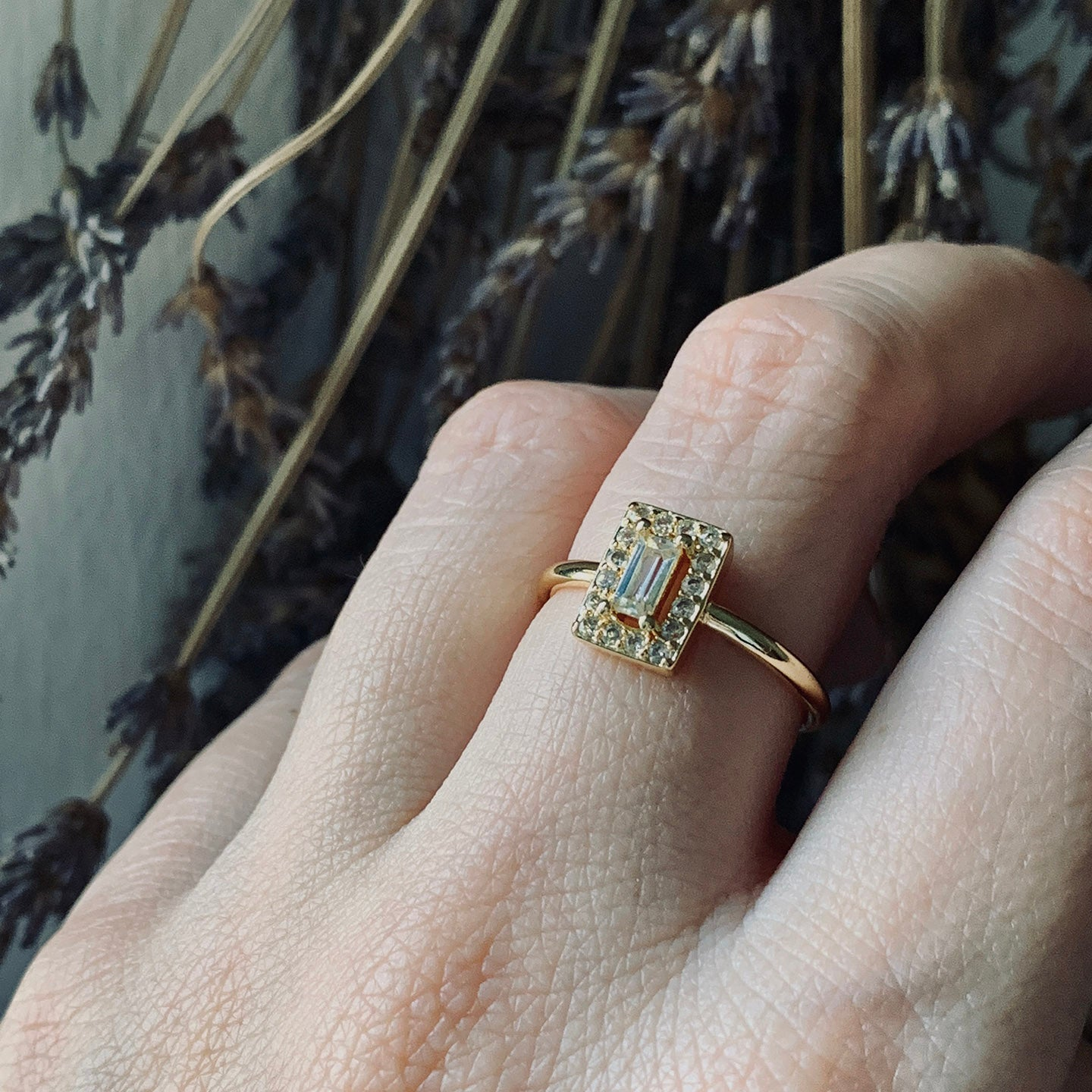 Empress gold ring
