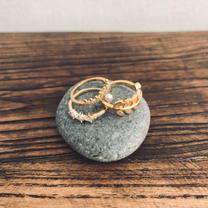 Cesar gold ring