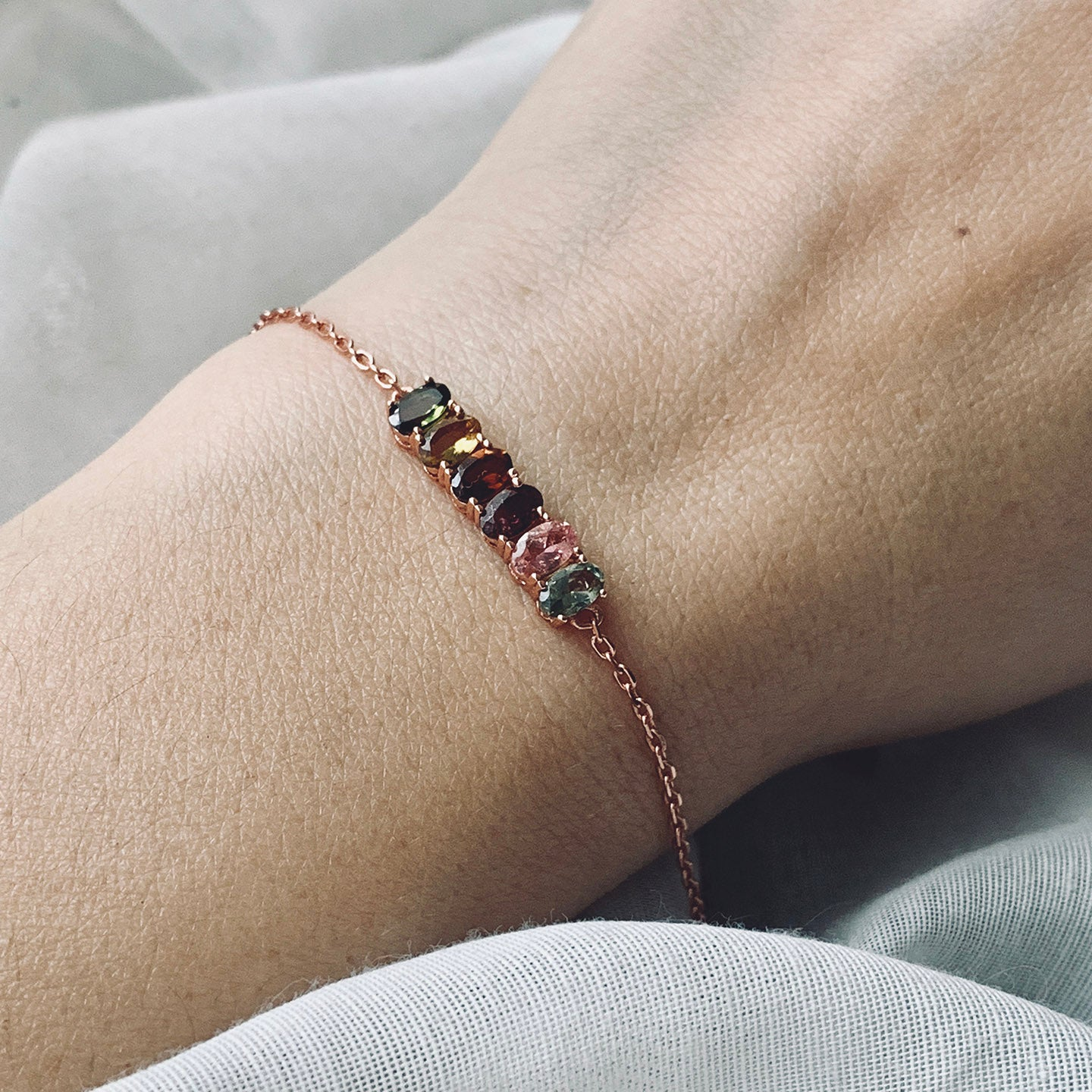 Biba rose gold plated bracelet