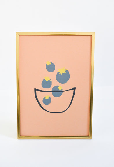 ATELIER MAVE - Blueberries Art Print