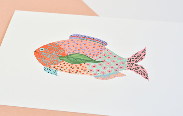 ATELIER MAVE - Fancy Fish Art Print