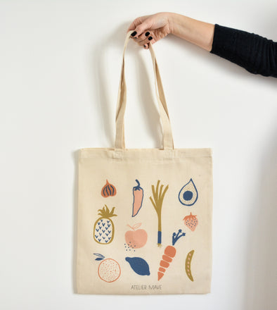ATELIER MAVE - Fruits and Vegetables Tote bag