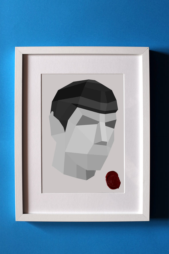 PAPIER ATELIER-Mr. Spock Tablo
