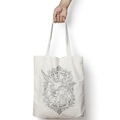 As the World Falls Down Tote Bag - Labyrinth