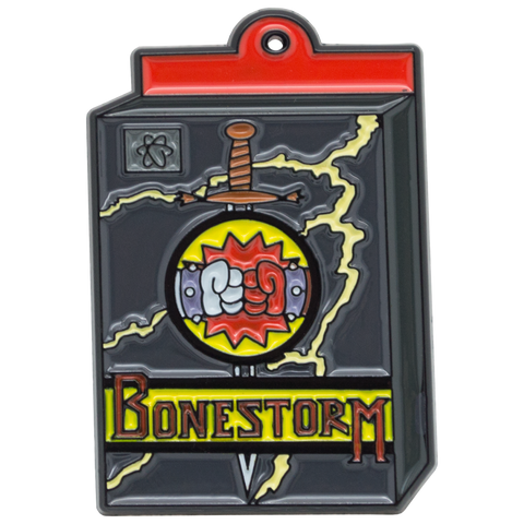 The Simpsons ''Bonestorm'' Enamel Pin